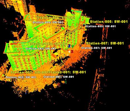 三维激光扫描建筑工程解决方案
