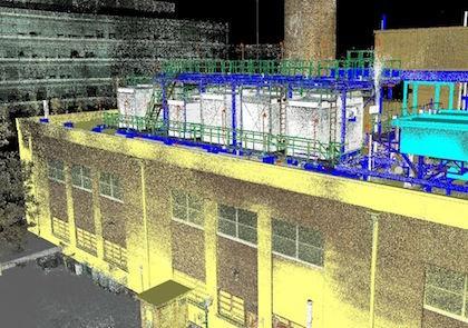 三维激光扫描技术在发电厂的应用