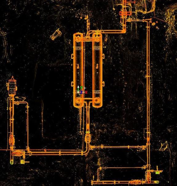 三维激光扫描双容器解决方案