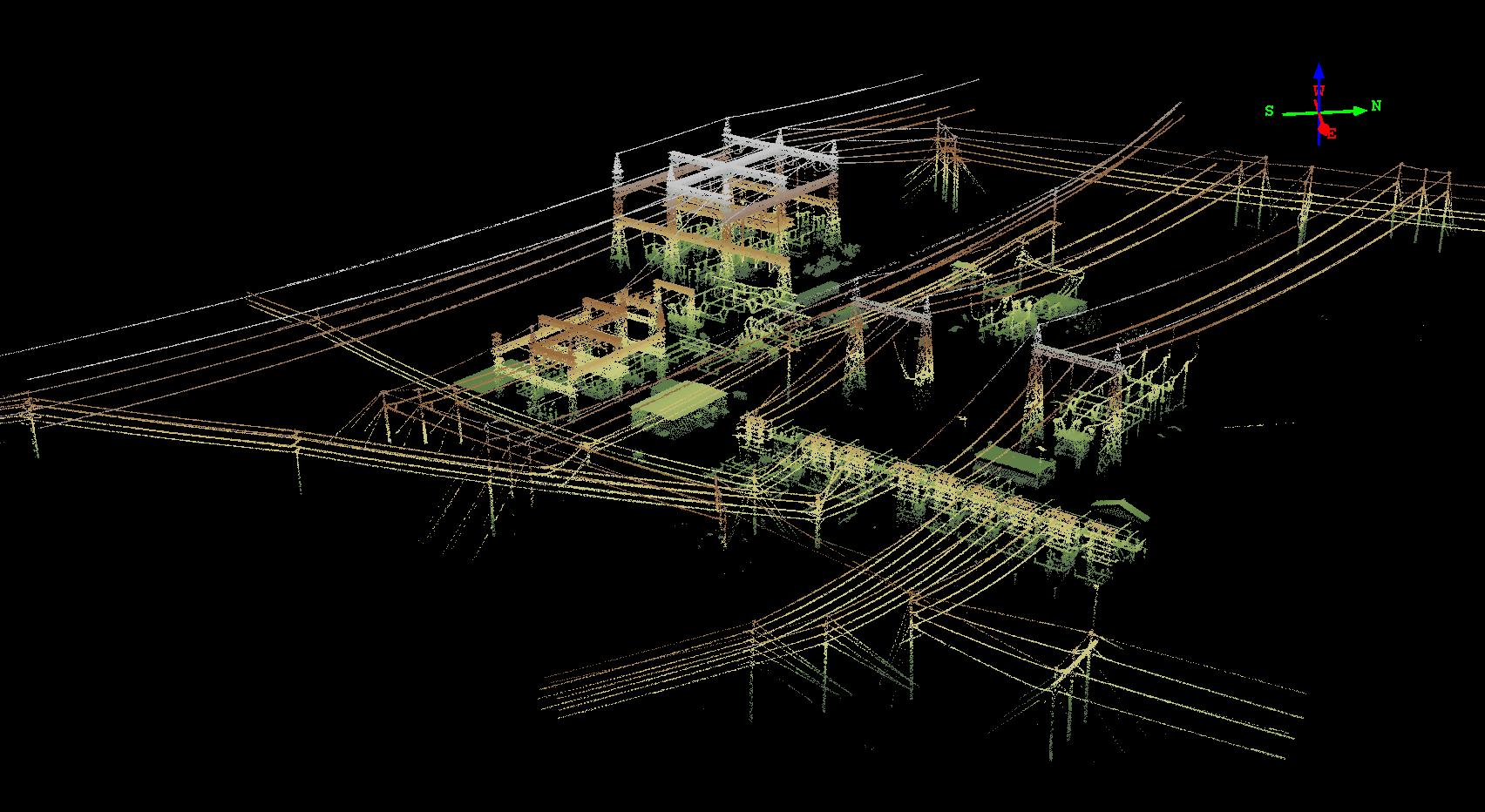 电力领域三维扫描解决方案
