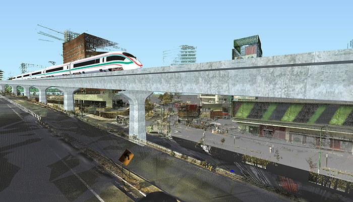 高铁站三维扫描解决方案